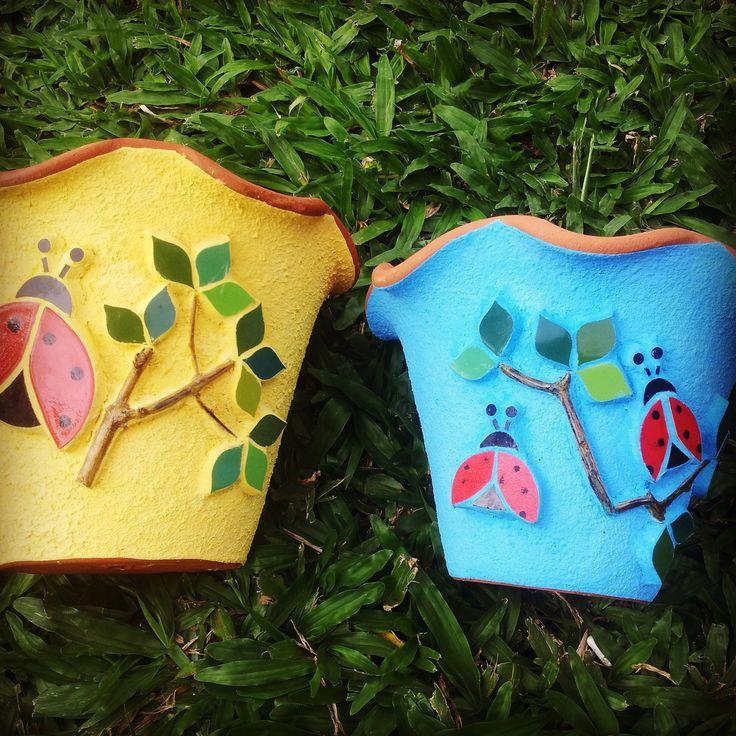 Vasos de parede - Ana Vasconcellos