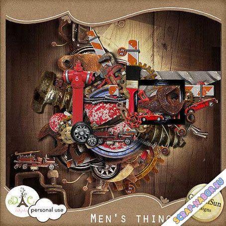 Мужской скрап-комплект - Мужские вещи - 14 Августа 2013 - Скрап-наборы, скрапы…