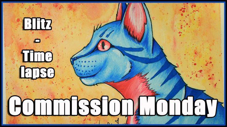 COMMISSION MONDAY - Blueberryblitz - TIME LAPSE