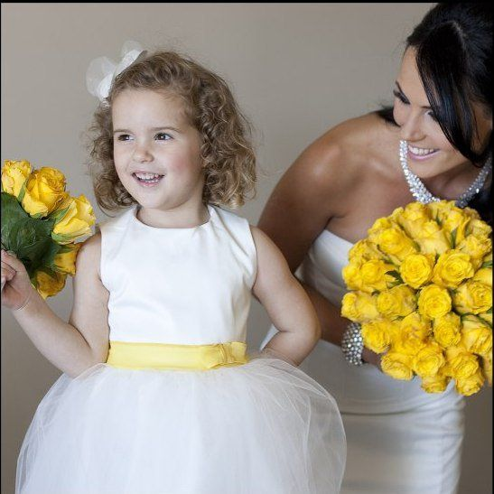 Polak Wedding Photographer: Nicole McCluskey, Flower Girl Dress: Rebecca Timson, Wedding Gown: Sam Elmslie and Rebecca Timson (Beq Design)
