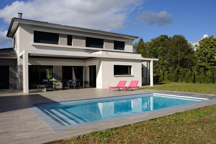Villa De Particulier Amenagement Jardin Terrasse Piscine