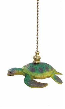 Sea Turtle Fan Pull eclectic nursery decor