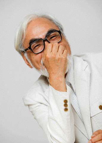 """Hayao Miyazaki: """"Whenever someone creates something with all of their heart, then that creation is given a soul."""""""