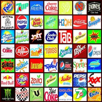 Soft drink logos (169 pieces) | Jigsaw puzzles I like ...