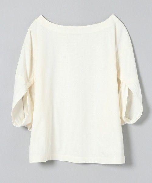 【ZOZOTOWN】JEANASIS(ジーナシス)のTシャツ/カットソー「ヘンケイスリーブプルオーバーSS/730482 」(730482)を購入できます。