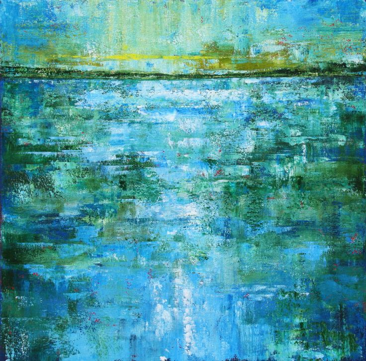 Sage Mountain Studio: Abstract Paintings of Water - A Progression in Three Parts