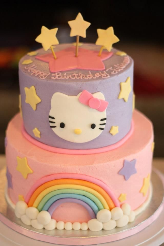 purple hello kitty cakes | Sweetness.....Adventures in Cakes: Cookie Favors with cakes