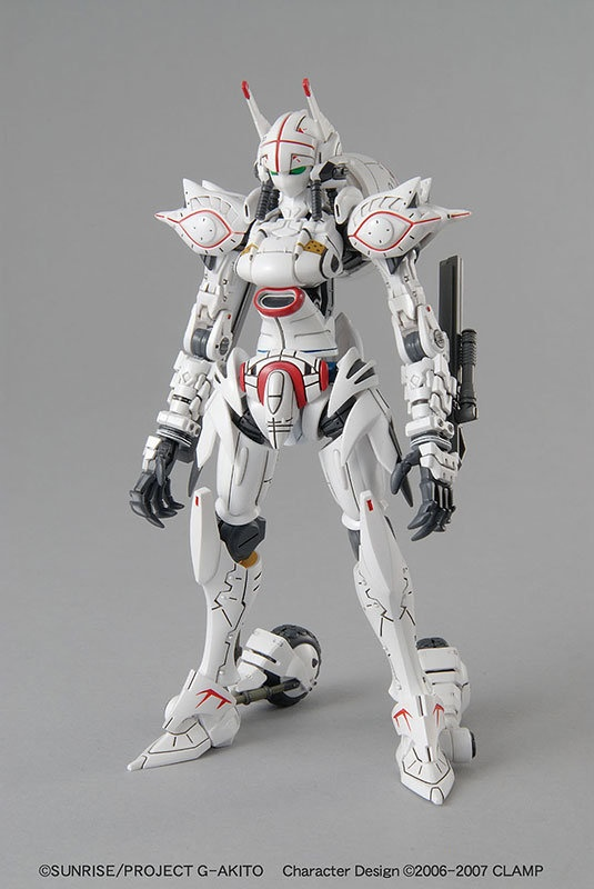 MECHA GUY: 1/35 Code Geass GAIDEN Akito: Alexander - Box Art & Official Images [Updated 8/2/12]
