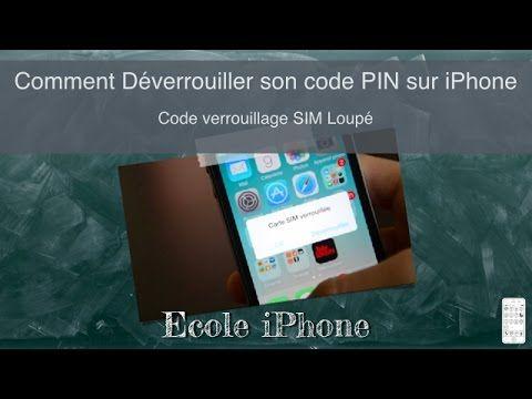 Comment Déverrouiller son code PIN sur iPhone - Ecole iPhone n°16