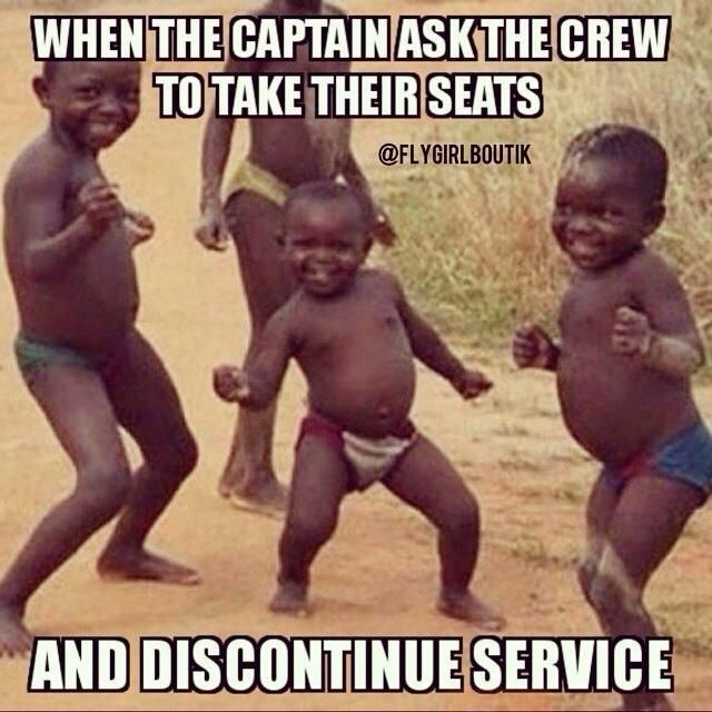 Just one of those rare happy moments. LOL #crewlife #turbulence #funny  Repin!