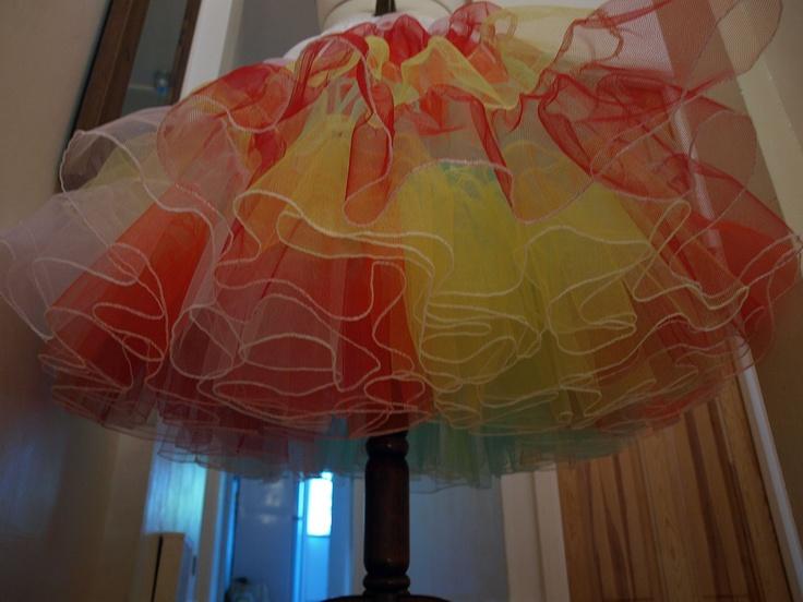 Lizzie Jayne Wedding Dresses: Rainbow Petticoat!