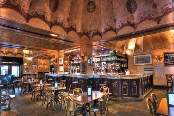 Ryan's - the main bar Christmas Menu  http://ralphslifeontour.blogspot.co.uk/2012/10/ryans-bar-edinburgh.html# @Ryans_Bar
