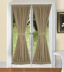 Best French Door Curtains Images On Pinterest Curtains
