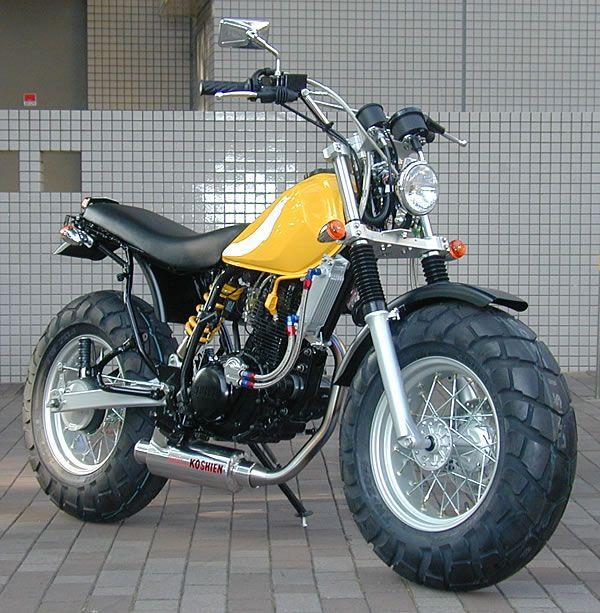 Suzuki Tire Size >> 58 best images about Moto Yamaha TW 125 custom on ...