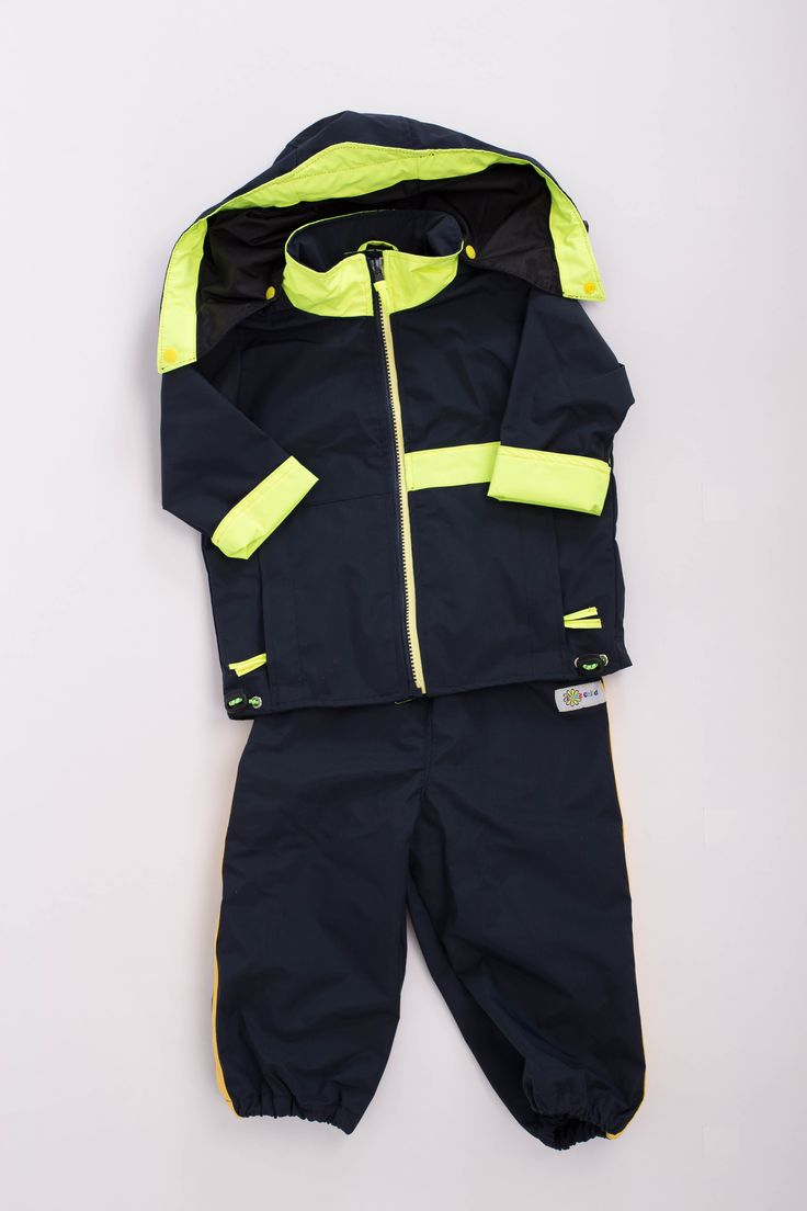 Love Child Fall Lined Jacket with Hood and Splash Pant