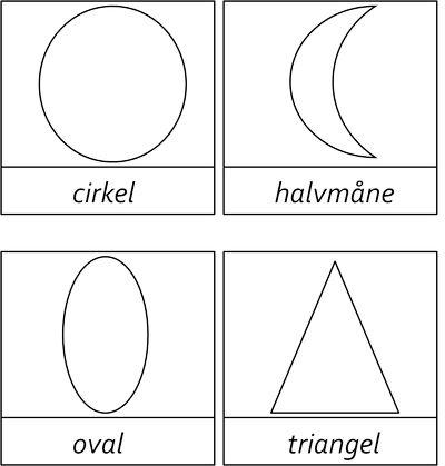 Här är kort i tre delar om de geometriska formerna. Jag är dock lite osäker på de svenska namnen så om någon kan hjälpa mig med detta är jag väldigt tacksam. Mina namn har jag hittat på wikipedia…