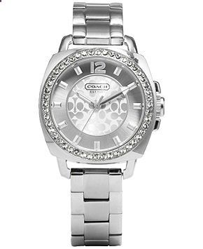 Coach Boyfriend Small Bracelet Watch - Coach Watches - Handbags Accessories - Macys