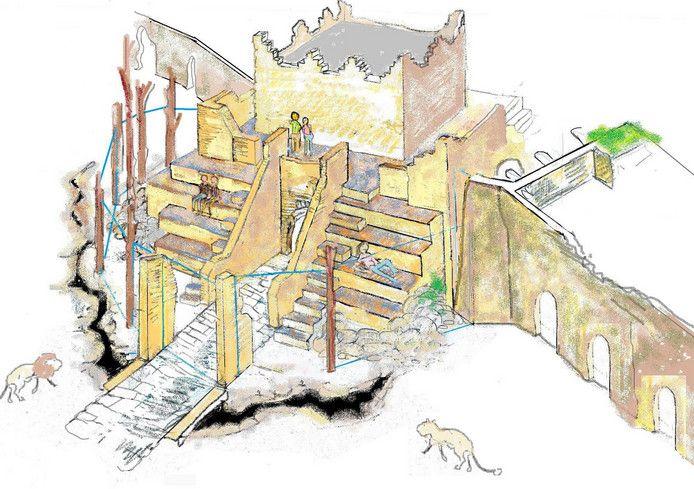 """02-02-17 Het leeuwenverblijf in Dierenpark Amersfoort wordt twee keer zo groot. De locatie blijft hetzelfde. Het verouderde verblijf van de leeuwen herken je straks niet meer"""", vertelt bioloog Raymond van der Meer. Het leeuwenverblijf bevindt zich in de Stad der Oudheid. Volgens Van der Meer komt het publiek na de renovatie via de donkere kerkers oog in oog te staan met de leeuwen. Ook komt er een tribune. Kinderen kunnen via de Klim Alles-route langs het verblijf klauteren."""