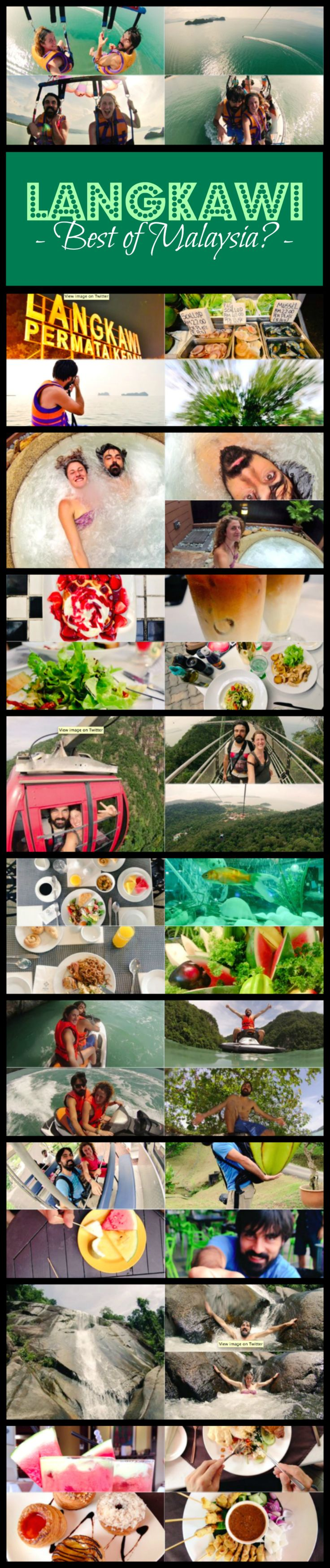 Is #Langkawi the best of #Malaysia? Is a visit to this Malaysian archipelago worth a visit, your time and money? Here's our experience in Langkawi, told live as we were roaming around it. It will help you decide whether to include Langkawi on your SE Asia travel plans or not. - A World to Travel