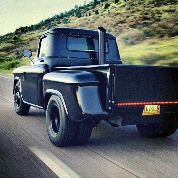 Nice Dually '55 Chevy 1-Ton