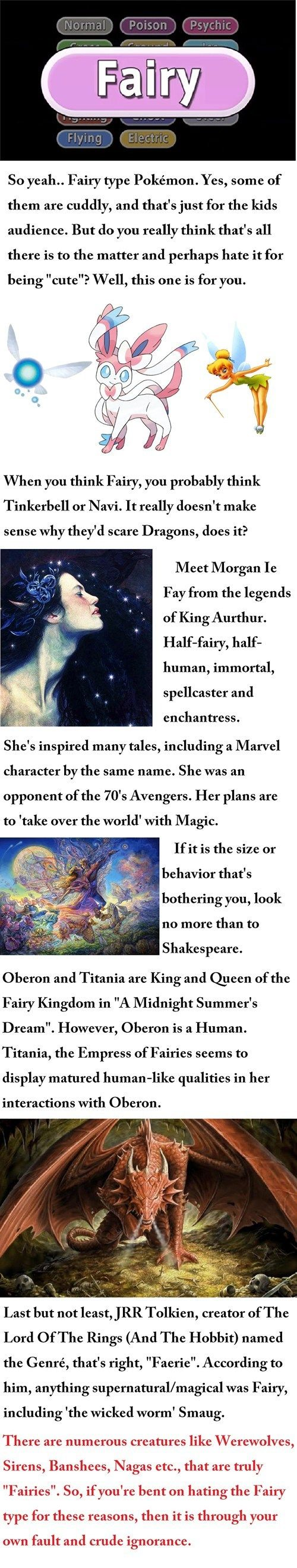 Why Are Fairies Powerful? To me, the only good Fairy Pokémon are Mawile, Sylveon, Azumarill, and Ralts—Gardevoir.