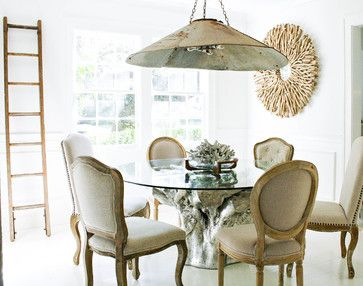 Sequoia Dining Table Adds Eclectic Natural Elements To This Dining