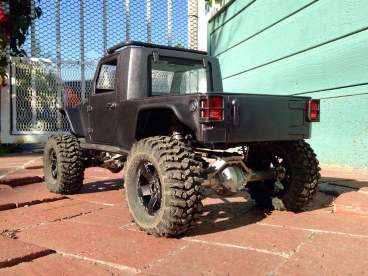 hard body jeep brute conversion bendercustoms jeep brute truck pitbulltires. Black Bedroom Furniture Sets. Home Design Ideas