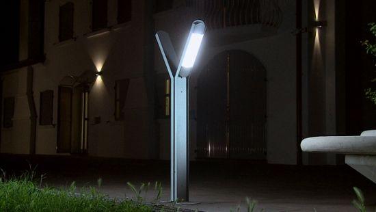 Patio illuminato  Lighted patio