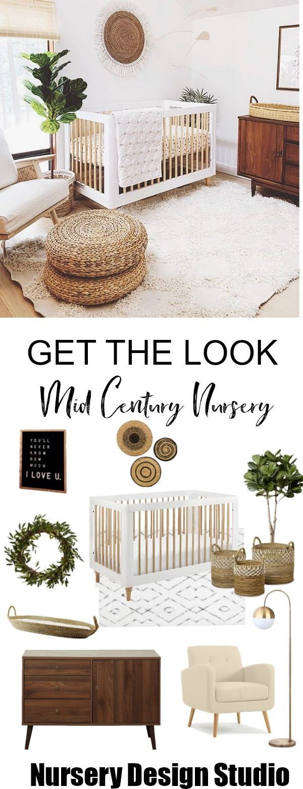 GET THE LOOK: EARTHY MID CENTURY NURSERY