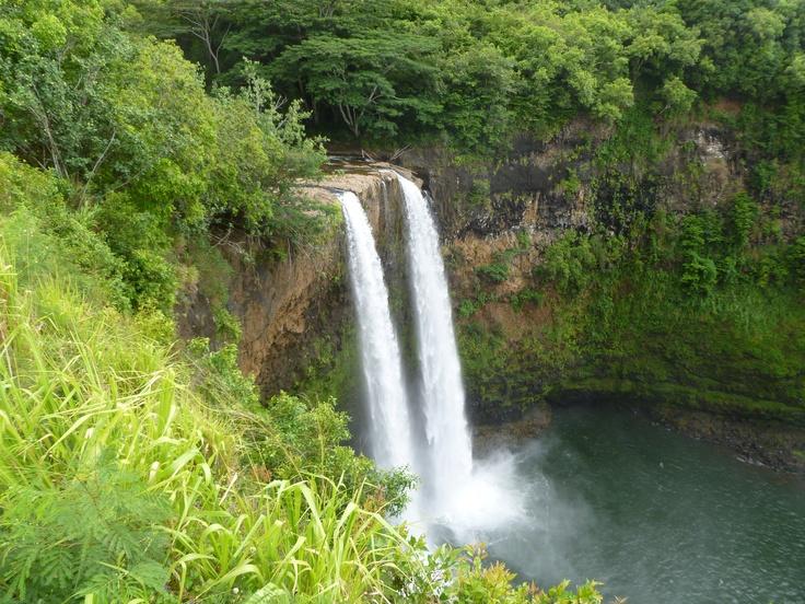 Wailua Falls - Kaua'i, Hawaii