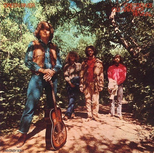 Green River, an Album by Creedence Clearwater Revival. Released August 3, 1969 on Fantasy (catalog no. 8393; Vinyl LP). Genres: Swamp Rock.  Rated #22 in the best albums of 1969, and #480 in the greatest all-time album chart (according to RYM users).  Featured peformers: Doug Clifford (drums), Stu Cook (bass), John Fogerty (lead guitar, vocals, arranger, producer), Tom Fogerty (rhythm guitar), Basul Parik (photography).