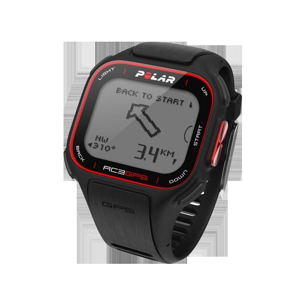 Polar RC3 GPS – begleidt je terug naar je startpunt met geïntegreerde GPS