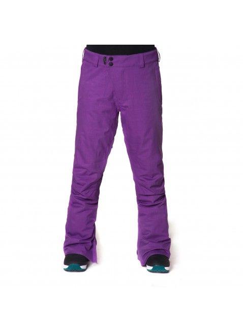 Horsefeathers Serina Pants- Purple women's salopettes