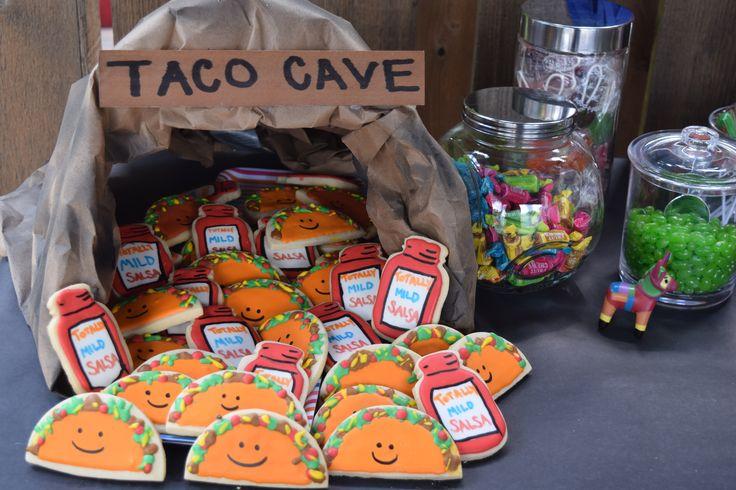 Dragons Love Tacos Party