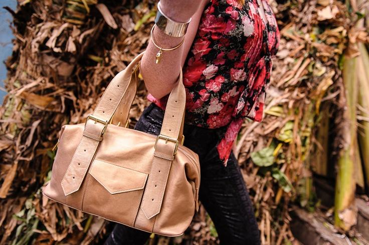 Gold Shoulder Bag. Fairtrade.  Buy at: www.bettyandbetts.com