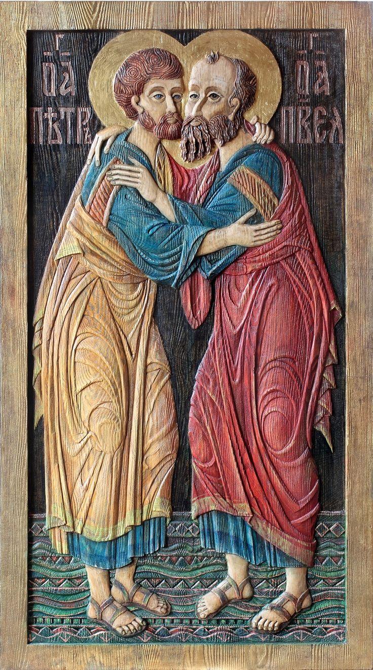 Икона. Апостолы Св.Петр и Св.Павел