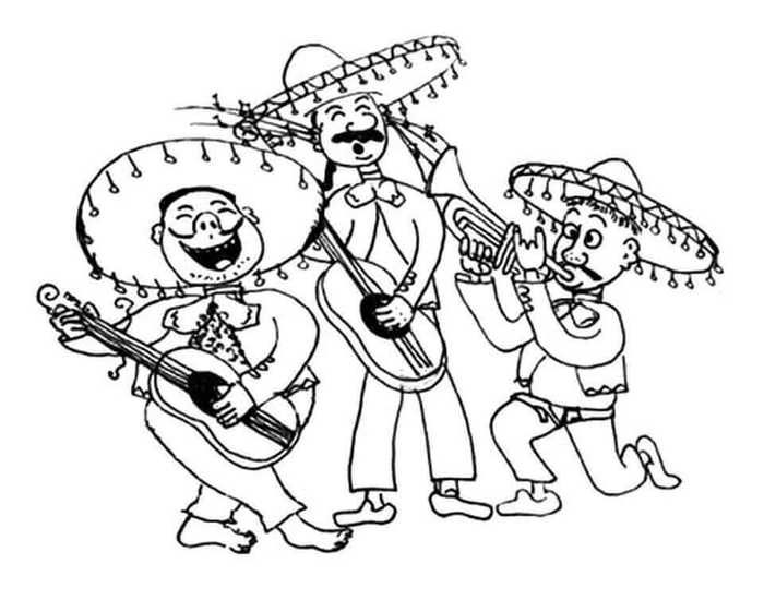 Printable Cinco De Mayo Coloring Pages Free Coloring Sheets Coloring Pages Bear Coloring Pages Coloring Pages For Kids