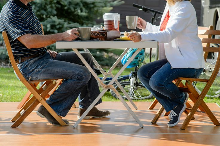 RVing this summer? Expand your outdoor living space with the RV Deck. Pre-season prices at http://www.deckedoutrvproducts.com/order/