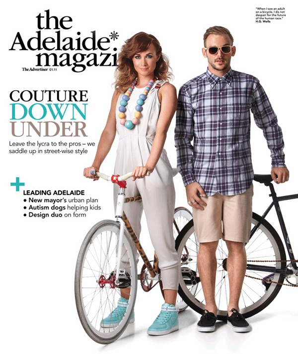 The Adelaide* magazine - Jan 2011. http://www.theadmag.com.au