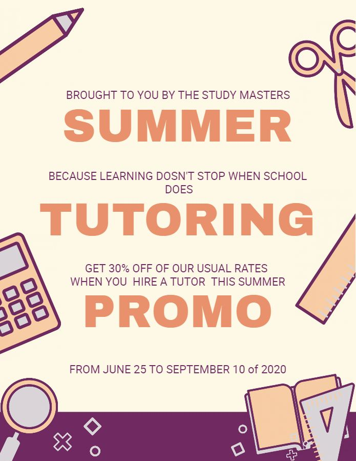 math tutoring flyer template.html