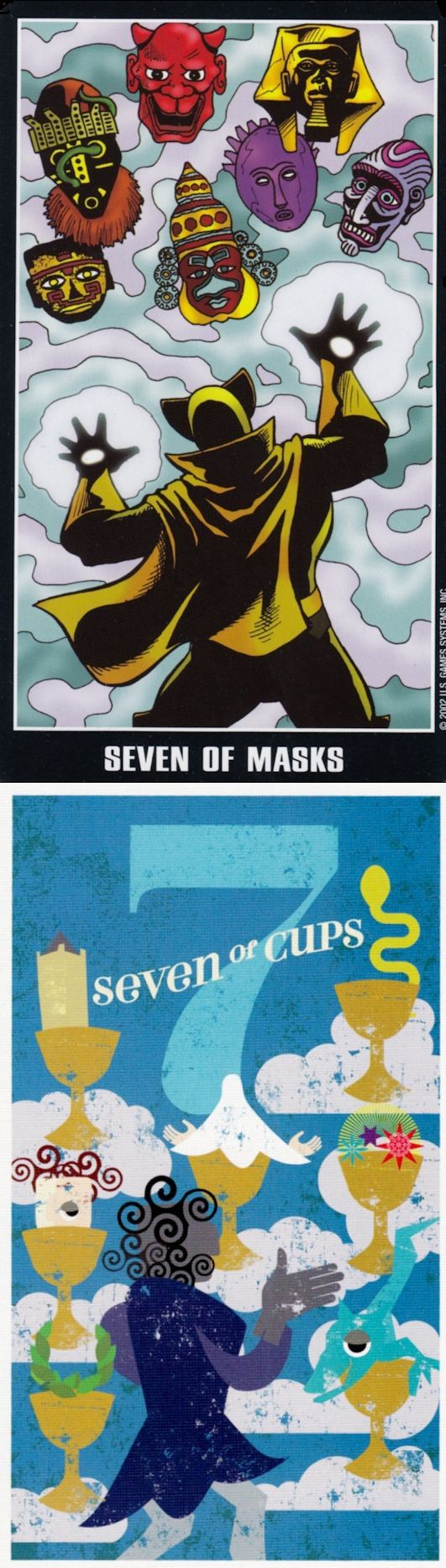 Seven of Cups: many choices and temptation can draw you to ruin (reverse). Adventure Tarot deck and Mid Centurian Tarot deck: tarot app, online tarot reading free instant vs free tarot card reading 2016. New psychic reading sign and predictions.