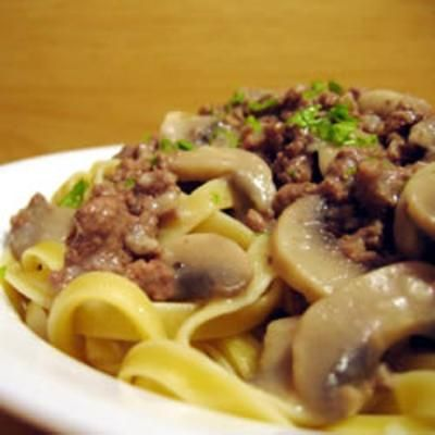 Beef Stroganoff IIIRhine Wine, Classic Recipe, Noodles, Chuck Roasted, Roasts, Steam Rice, Roasted Simmer, Green Onions, Mushrooms