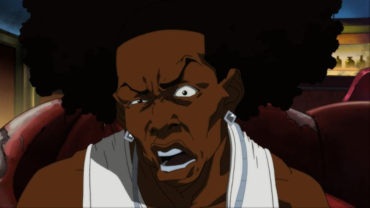 Boondocks Character Thugnificent
