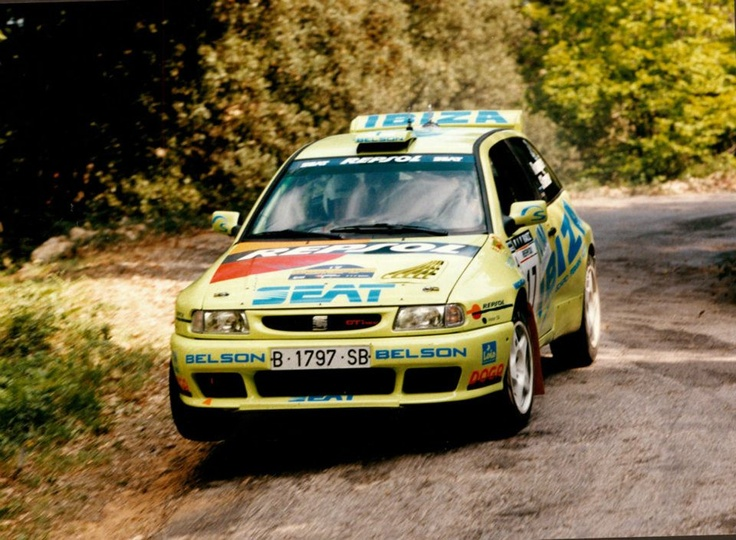 Harri Rovanpera-Voitoo Silander. Ibiza Kit Car EVO 1. Cataluña Rally 1997