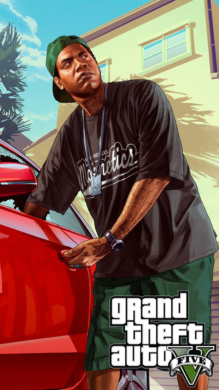 Franklin Gta V Image in 2020 Grand theft auto, Rockstar