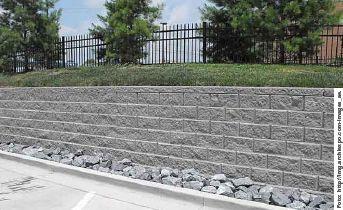 27 mejores im genes sobre muros de piedra en pinterest for Bloques decorativos para jardin