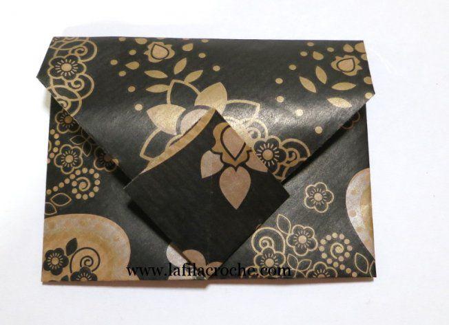 Tutoriel enveloppe en origami