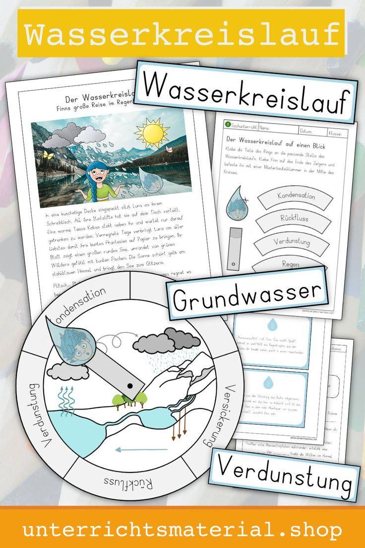 Wasserkreislauf Grundschule 100 Tolle Sachunterricht Materialien Wasserkreislauf Grundschule Wasserkreislauf Grundschule