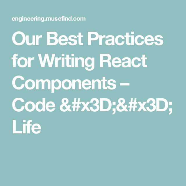best practices for writing We all want to write reusable maintainable code that follows best practices, but how if you already publish your own packages on pypi and you get no joy out of critiquing people who give best practices talks, you might benefit more from one of the other talks.