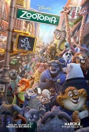 ZOOTOPIA Coloring Sheets and Movie Preview